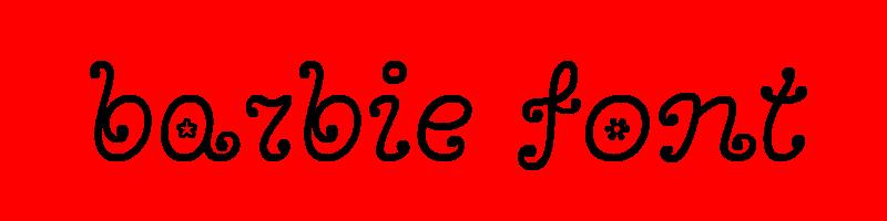 線上英文芭比娃娃字型產生器,快速將英文字轉換成英文芭比娃娃字型 ,系統支援WIN+MAC蘋果系統