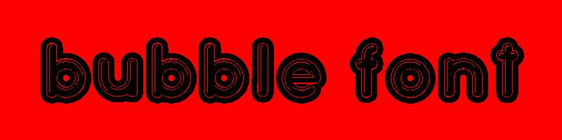 線上英文泡沫字型產生器,快速將英文字轉換成英文泡沫字型 ,系統支援WIN+MAC蘋果系統