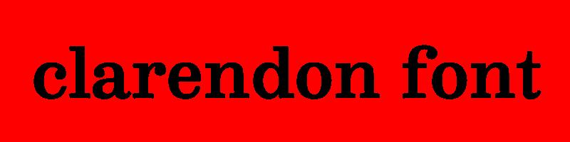 線上英文克拉倫登字型產生器,快速將英文字轉換成英文克拉倫登字型 ,系統支援WIN+MAC蘋果系統