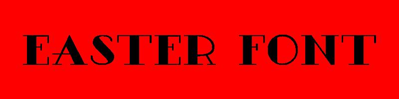 線上英文復活節字型產生器,快速將英文字轉換成英文復活節字型 ,系統支援WIN+MAC蘋果系統