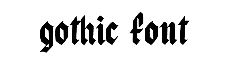 線上英文哥特式字型產生器,快速將英文字轉換成英文哥特式字型 ,系統支援WIN+MAC蘋果系統