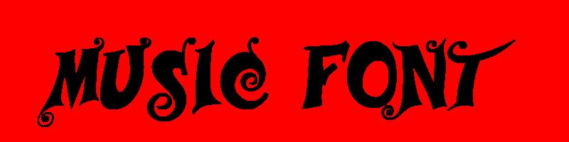 線上英文音樂字型產生器,快速將英文字轉換成英文音樂字型 ,系統支援WIN+MAC蘋果系統