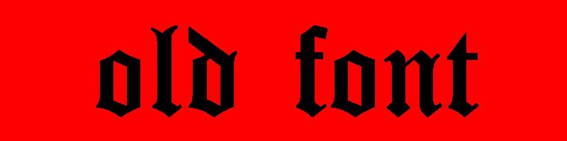線上英文古老字型產生器,快速將英文字轉換成英文古老字型 ,系統支援WIN+MAC蘋果系統