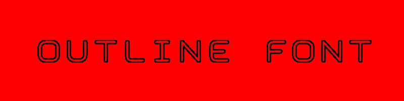 線上英文輪廓字型產生器,快速將英文字轉換成英文輪廓字型 ,系統支援WIN+MAC蘋果系統