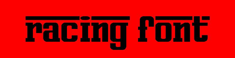 線上英文賽車字型產生器,快速將英文字轉換成英文賽車字型 ,系統支援WIN+MAC蘋果系統