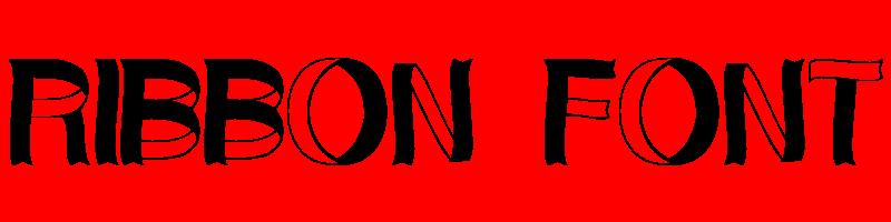線上英文絲帶字型產生器,快速將英文字轉換成英文絲帶字型 ,系統支援WIN+MAC蘋果系統